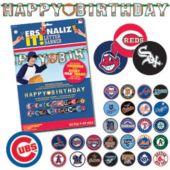 Major League Letter Banner