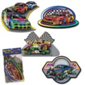 Race Car Cutouts-4 Pack