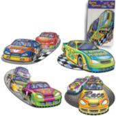 Car Racing Cutouts-4 Per Unit