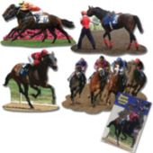 Horse Racing Cutouts-4 Pack