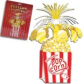 Movie Popcorn Centerpiece-15""