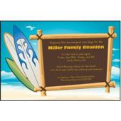 Surf's Up Personalized Invitations
