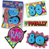 80's Totally Cutouts-3 Per Unit