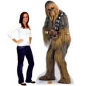 Chewbacca Life Size Stand Up