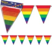 Rainbow Pennant Banner Decoration
