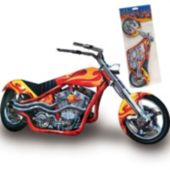Motorcycle Chopper Centerpiece-14""