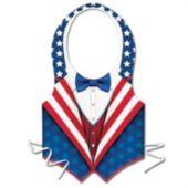 Patriotic Tuxedo Vest