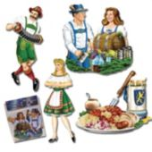 Oktoberfest Cutouts-4 Pack