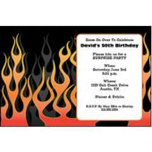 Motorcycle Rally Personalized Invitations