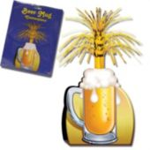 "Beer Mug Centerpiece-15"""