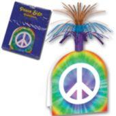 """Peace Sign Centerpiece-16"""""""
