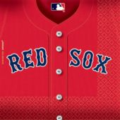 Boston Red Sox Lunch Napkins - 36 Per Unit