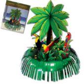 Palm Tree Fringe Centerpiece