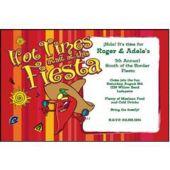 Hot Times Fiesta Personalized Invitations
