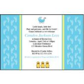 Baby Boy Personalized Invitations