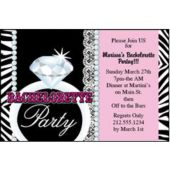 Bachelorette Party Personalized Invitations