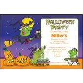 Halloween Party Personalized Invitations