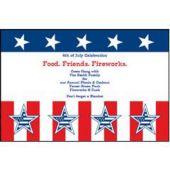Patriotic Events Personalized Invitations