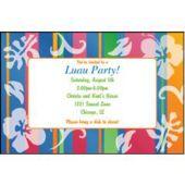 Bahama Breeze Ii  Personalized Invitations