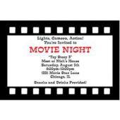 Film Strip Personalized Invitations