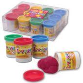 Fun Dough Cans-2oz - 12 Pack