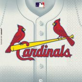 St. Louis Cardinals Lunch Napkins - 36 Pack