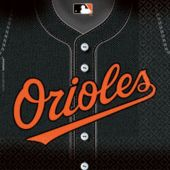 Baltimore Orioles Luncheon Napkins - 36 Pack