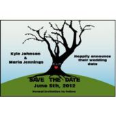 Save Date Tree Personalized Cards