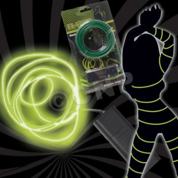 Green El-wire