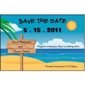 At The Beach Save The Date