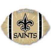 """New Orleans Saints Football Metallic 18"""" Balloon"""