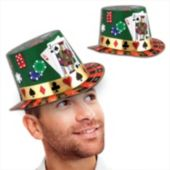 Casino Night Top Hats-25 Pack