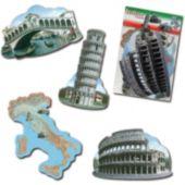 Italian Theme Cutouts-4 Per Unit