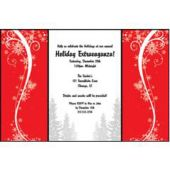 Sophisticated Christmas Personalized Invitations