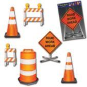 Construction Crew Cutouts-6 Per Unit