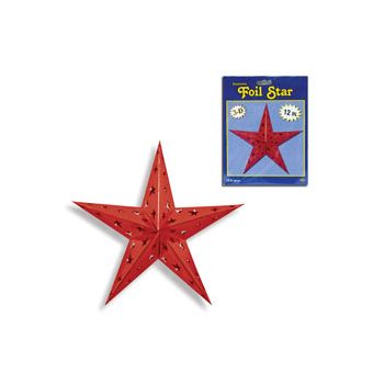RED 3D STAR