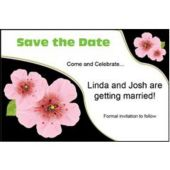 Pink Flower Personalized Invitations