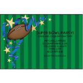 Football Fun Personalized Invitations