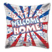 "Welcome Home Troops Metallic 18"" Balloon"