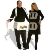 Plug & Socket Couples Set Plus  Adult Costume
