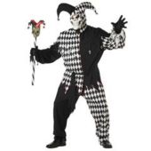 Evil Jester Plus Adult Costume