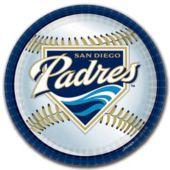 "San Diego Padres 9"" Plates - 18 Pack"