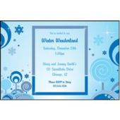 Winter Magic Personalized Invitations