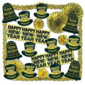 Gold Glimmer New Year Decorating Kit