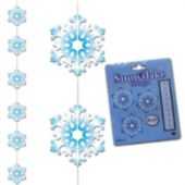 Snowflake Stringer Decoration