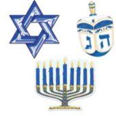 Hanukkah Cutouts-3 Pack