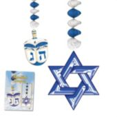 Hanukkah Danglers-2 Per Unit