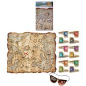 Pirate Treasure Map Party Game