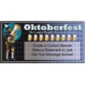 OKTOBERFEST FAIR CUSTOM BANNER (Variety of Sizes)