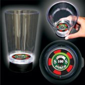 LED Casino Cup-16oz